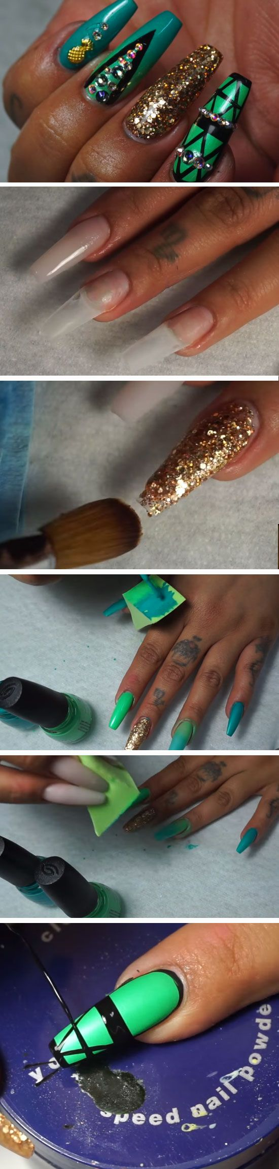 73 best nail art images on pinterest autumn nails fall nail art 15 easy diy coffin nails designs for summer solutioingenieria Gallery