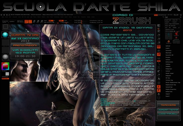 Zbrush 3D Digital Sculpting Course - page 1 by JordanNennaArt.deviantart.com on @deviantART