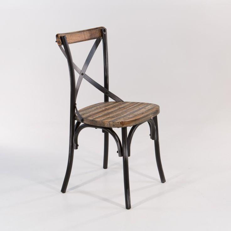 Les 25 meilleures id es de la cat gorie chaise bistrot sur for Chaise bistrot metal