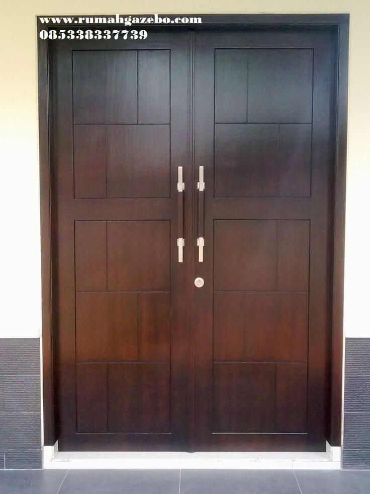 Pintu Minimalis 2 Pintu