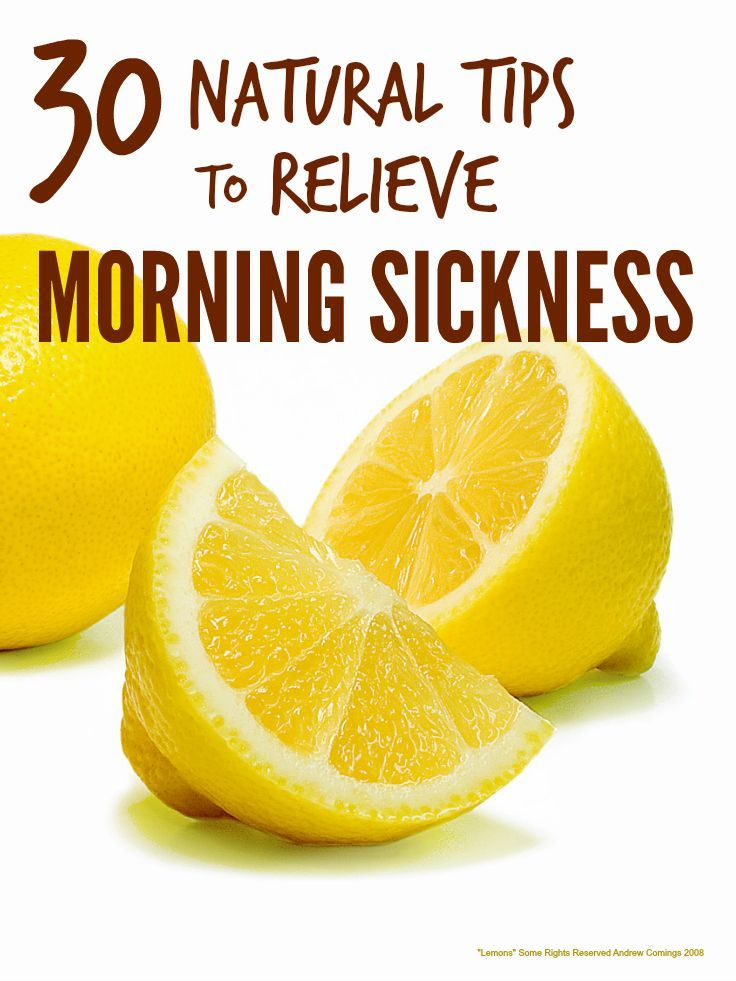 Morning sickness can make the early months of pregnancy truly miserable but luckily there are loads of natural remedies for morning sickness that help ...