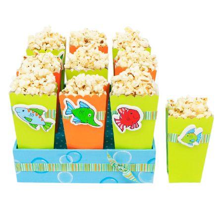 cajas para palomitas ideal para la decoracin de fiestas infantiles