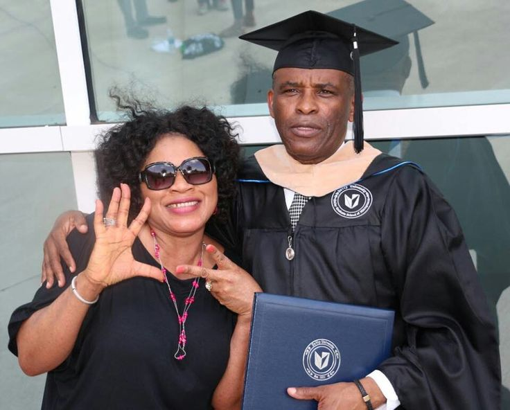 Dr Osato Osemwengie, the Nigerian man who makes drones for the United States army - was in Garland, Texas yesterday, June 23rd, 2017 for his 7th master degree graduation.