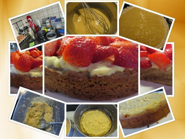 Anita's potjes en pannen: Aardbeienslof voor Moederdag