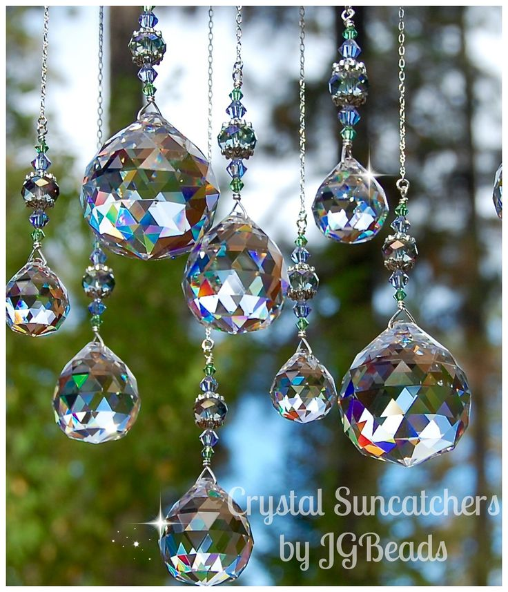 Magic Window! Unique Crystal Suncatchers by JGBeads.com #suncatchers #Rainbow ☼