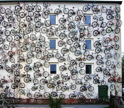 new bike parking