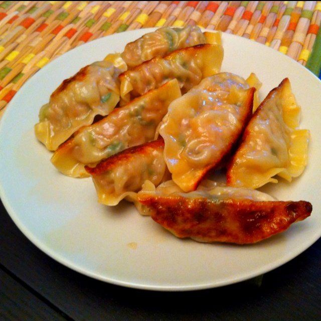 My wife makes the best gyoza in the world!