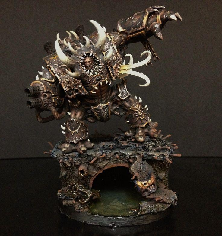 Diorama de Bruto Infernal, Legión Negra