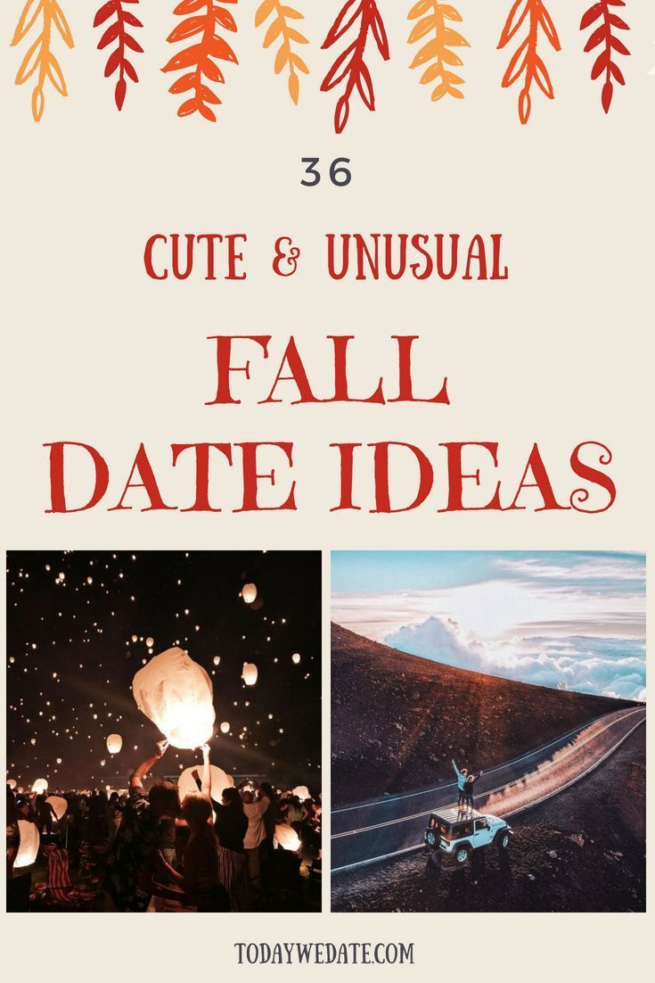 36 best sweet fall date ideas to try with bae this year | date ideas