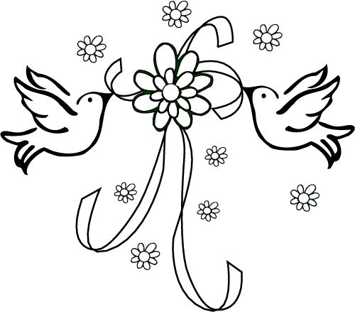 Wedding Coloring Pages (6)