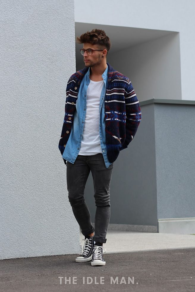 Men's Street Style | The Idle Man