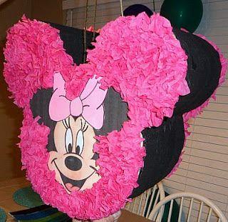 Piñatas de Minnie Mouse para Fiestas Infantiles                                                                                                                                                                                 Más