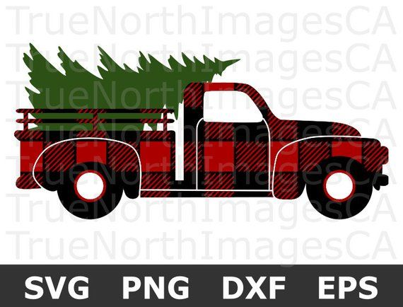 Christmas Truck Svg.Christmas Truck Svg Christmas Svg Christmas Tree Svg