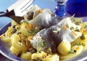 Salade de rollmops au cidre - Recettes - Cuisine française