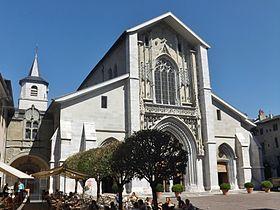 Cathédrale Saint-François-de-Sales de Chambéry. Rhône-Alpes