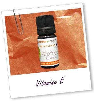 Antioxydant Vitamine E Aroma-Zone