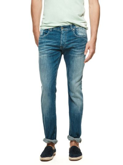 Classic Jeans and Espadrilles. Men's Spring/Summer Fashion.