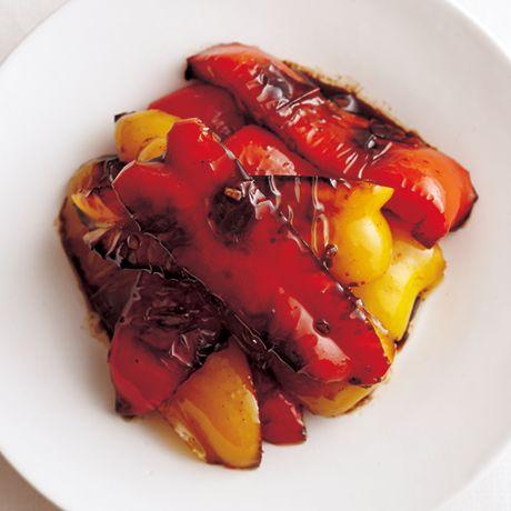 パプリカのバルサミコマリネ | 堤人美さんのおつまみの料理レシピ | プロの簡単料理レシピはレタスクラブニュース