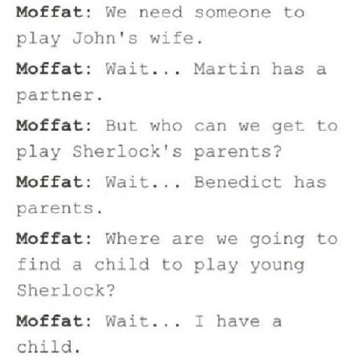 Sherlock casting
