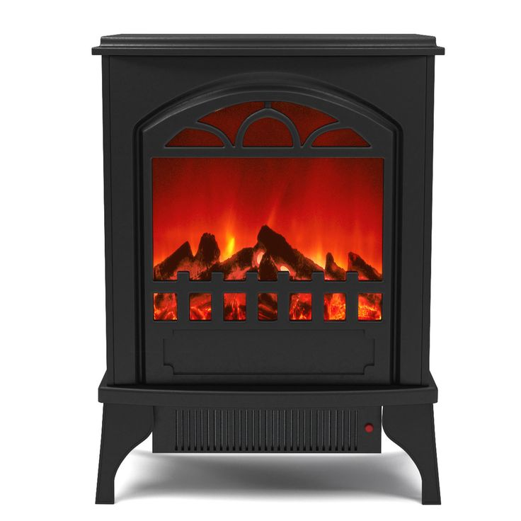 Moda Gibson Living Phoenix Free Standing Portable Electric Fireplace Space  Heater