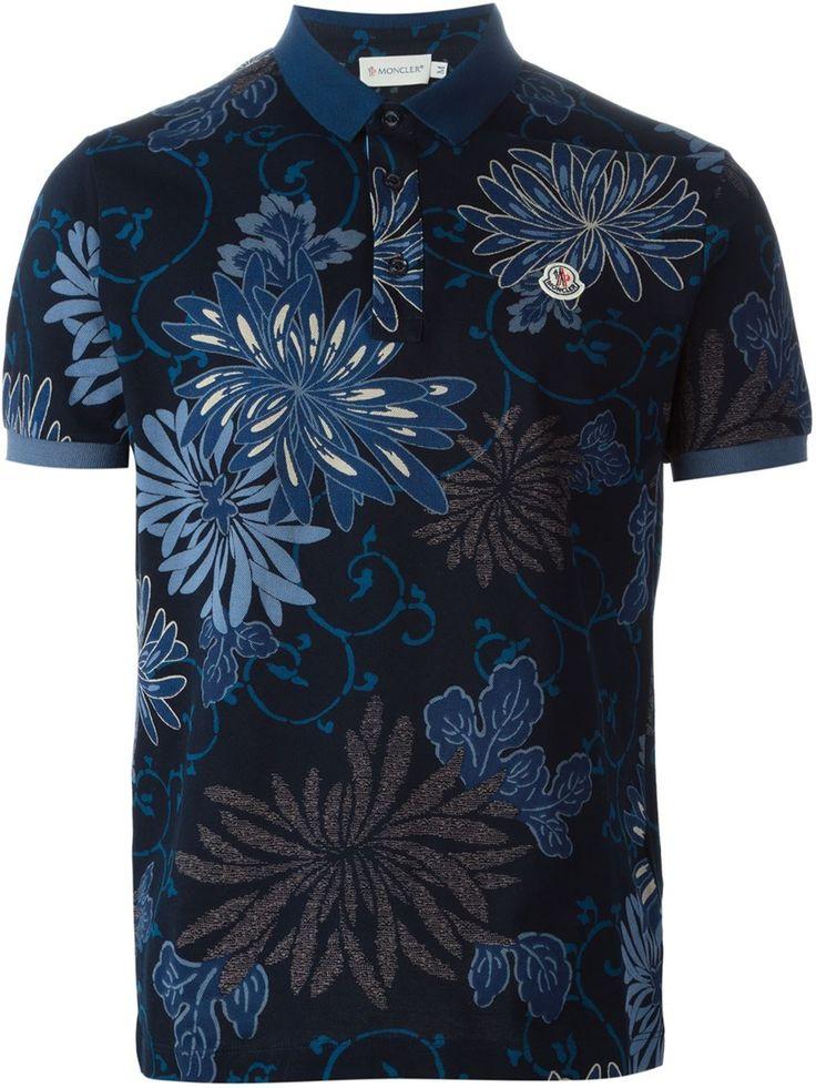 #moncler #poloshirt #mens #blues #navy #floral #prints #menswear #mensfashion www.jofre.eu