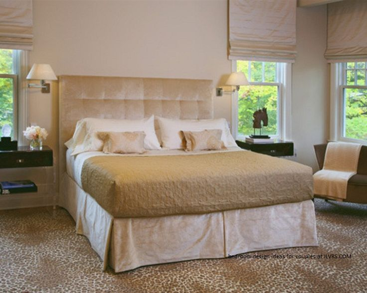 Bedroom Design Ideas For Couples With Carpet