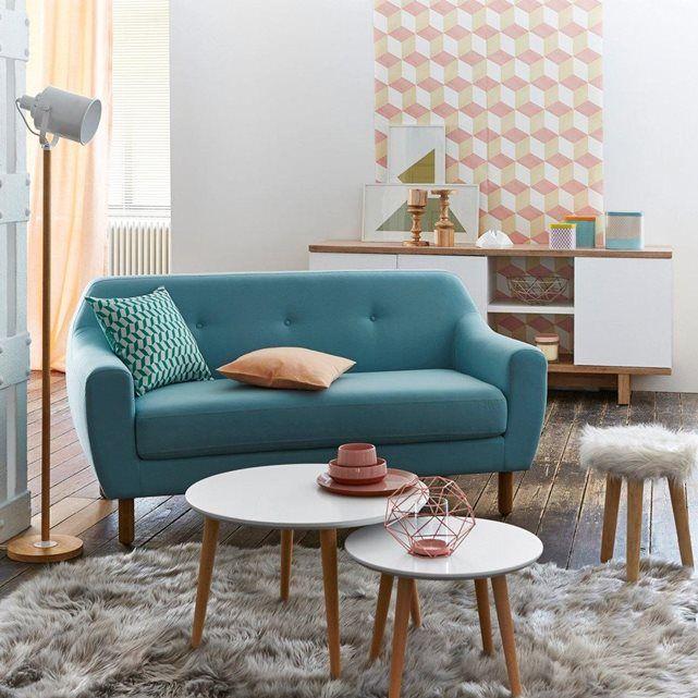 Canapé 2 places clém style et confort au rendez vous le canapé clém