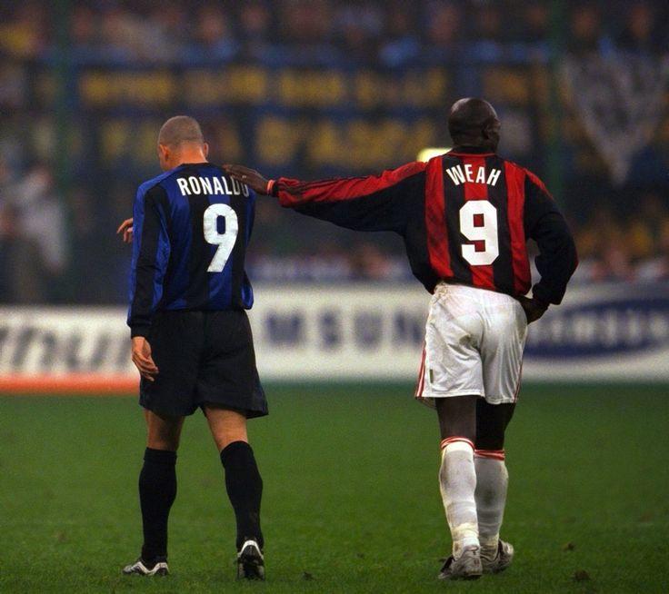Ronaldo vs Weah - Inter vs Milán
