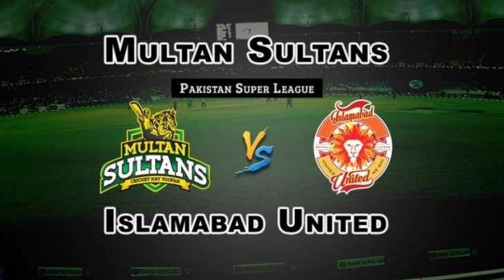 Live Psl Match Multan Sultans vs Islamabad United