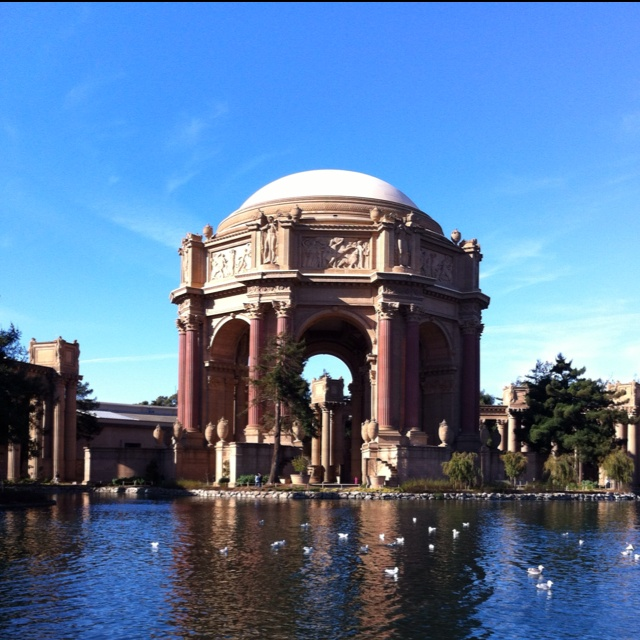 Palace Of Fine Arts SF I Use To Study Here In My College Years At