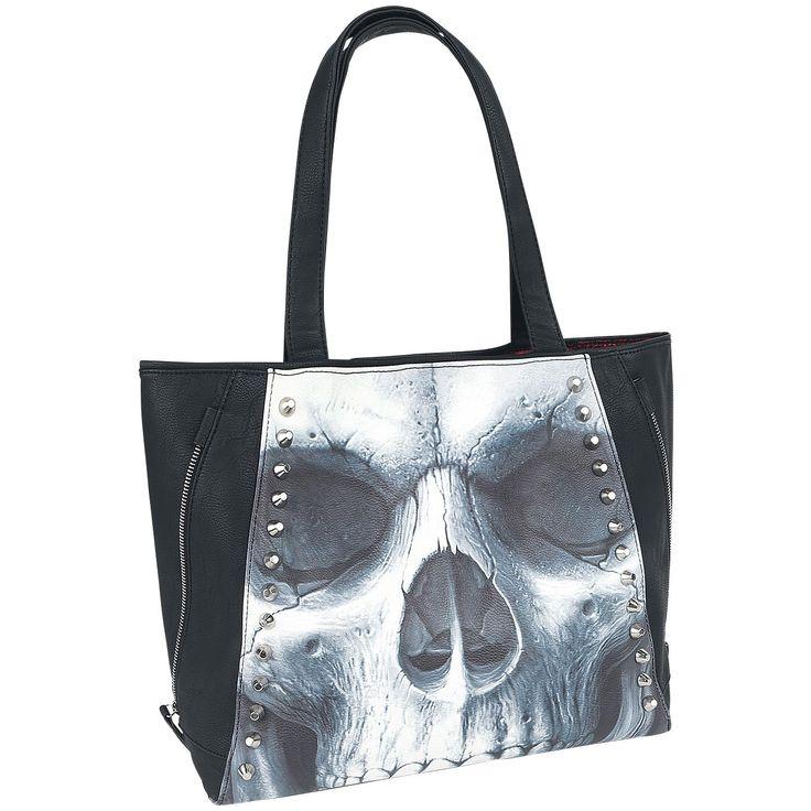 Solemn Skull - Handbag by Spiral