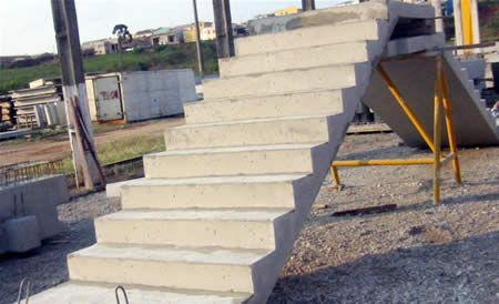 Compro Еscadas de concreto pré-moldado