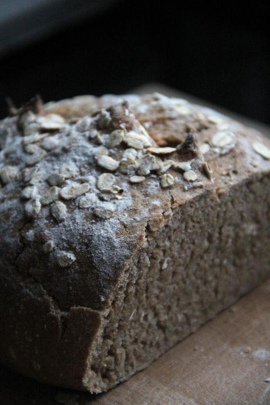 Pain de seigle (65% de farine de seigle) sur poolish - Galilou cuisine