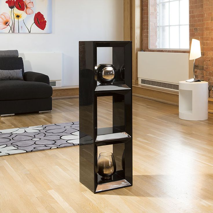 Black High Gloss Storage/Display.