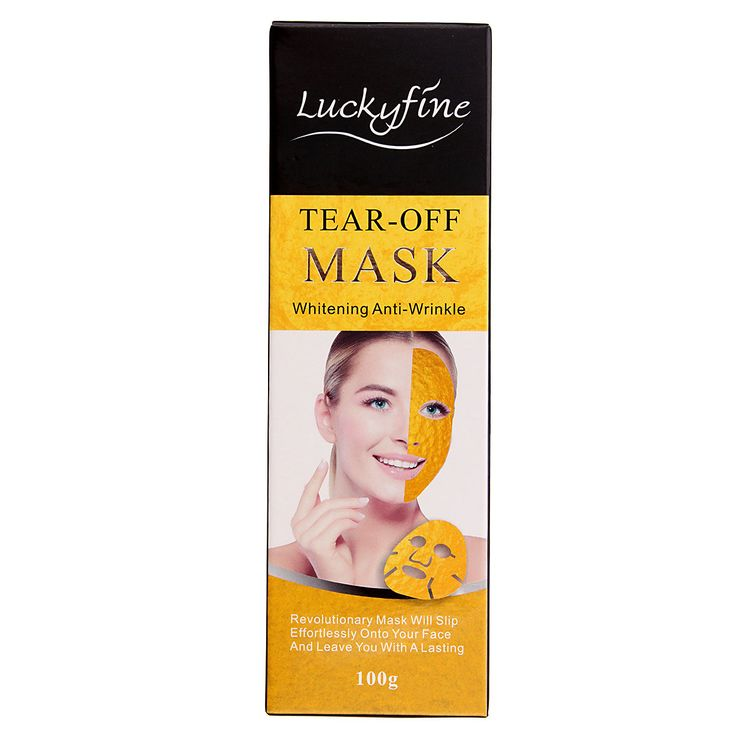 Luckyfine Gold Collagen Peel Off Mask Face Care Anti Aging Whitening Wrinkle Lifting