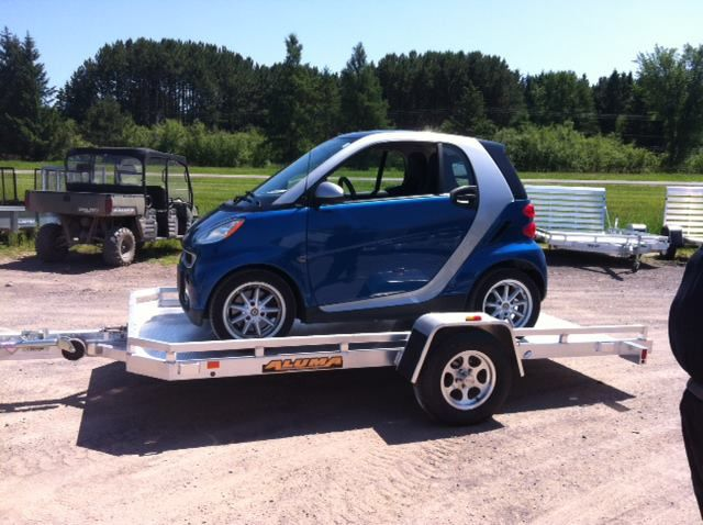 Smart Car Hauler Trailer Car Hauler Trailer Best