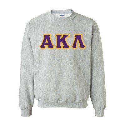 Alpha Kappa Lambda Fraternity Standards Crewneck Sweatshirt - Gildan 18000 - Twill