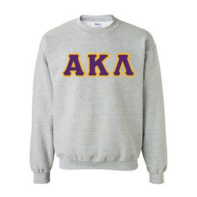 Alpha Kappa Lambda Fraternity Standards Crewneck Sweatshirt - Gildan 18000 - Twill