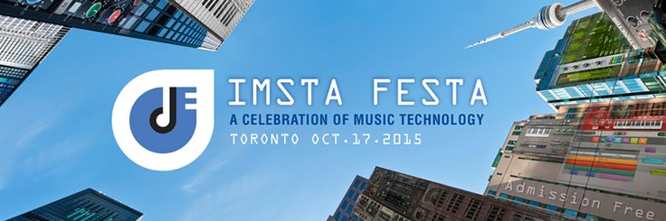 The International Music Software Trade Association (IMSTA) is pleased to announce that its annual celebration of Music Technology event, IMSTA FESTA, will be returning to Toronto. Hosted by RYERSON UNIVERSITY, this free event is set to take place on October the 17th, 2015. Get all the details and register at http://imsta.org/imsta_festa_2015_TO.php