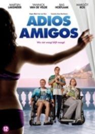 ADIOS AMIGOS CAST: MARTIJN LAKEMEIER, BAS HOEFLAAK, MARGOT ROS MOVIE, DVD