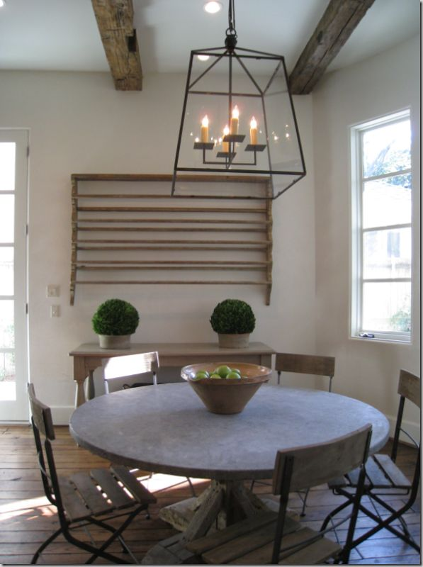 Love The Exposed Ceiling Beams