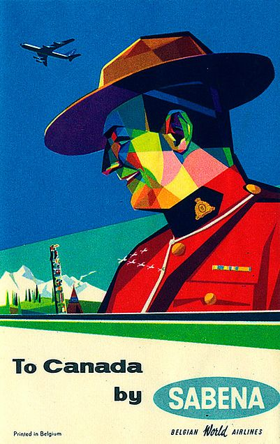 Old Canadian Travel Posters