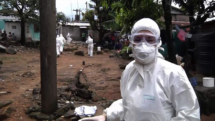 Sky News' Special Correspondent Alex Crawford reports from the front line of the battle against the ebola virus in Liberia.