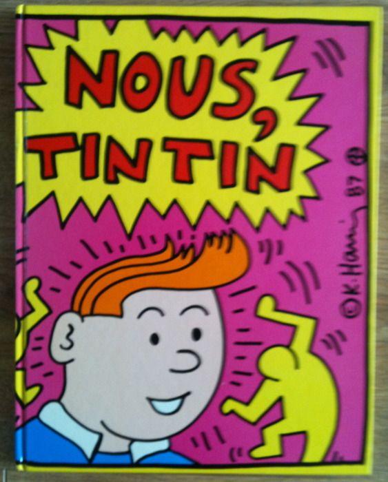 Tintin vu par K. Haring