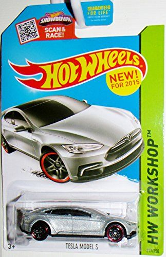 Hot Wheels, 2015 HW Workshop, Tesla Model S [Silver] Die-Cast Vehicle, #217/250 - http://www.caraccessoriesonlinemarket.com/hot-wheels-2015-hw-workshop-tesla-model-s-silver-die-cast-vehicle-217250/  #217250, #2015, #Diecast, #Model, #Silver, #Tesla, #Vehicle, #Wheels, #WORKSHOP #Car-Wheels, #Tires-Wheels