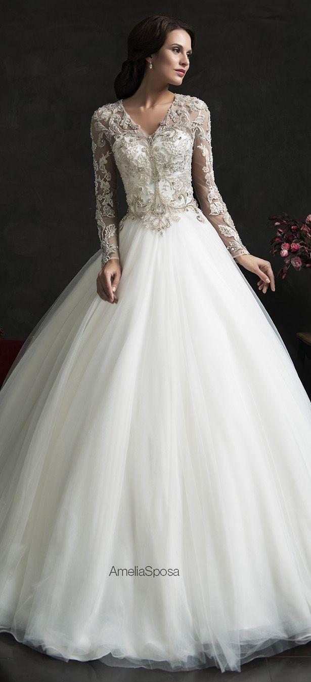 Amelia Sposa 2015 Wedding Dress - Leonor