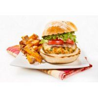 Fiche recette | Burger de poulet cajun | SAQ.com