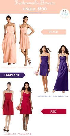 Bridesmaids Dresses Under $100 | Treasure Thursday 17 - KnotsVilla