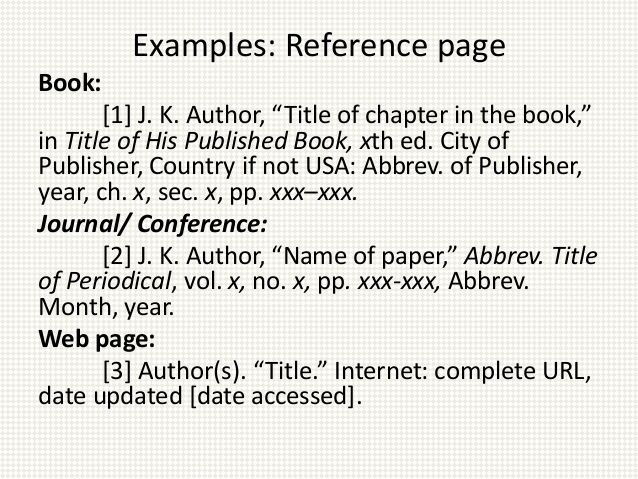 Best 25+ Ieee format ideas on Pinterest Most deadly animal, Ieee - annotated bibliography template