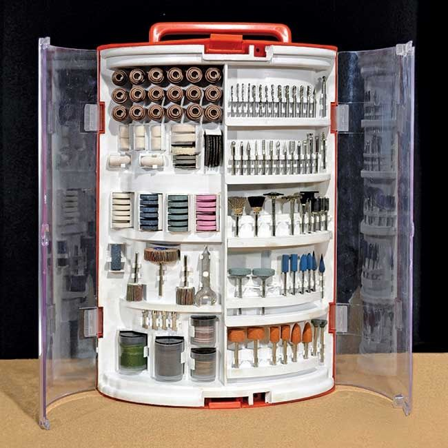 265 Piece Accessory Set for Rotary Tools